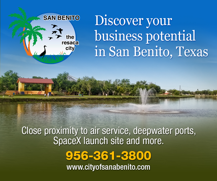 City of San Benito right sidebar